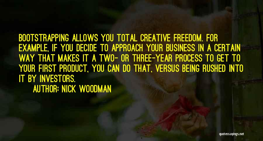 Mr. Woodman Quotes By Nick Woodman