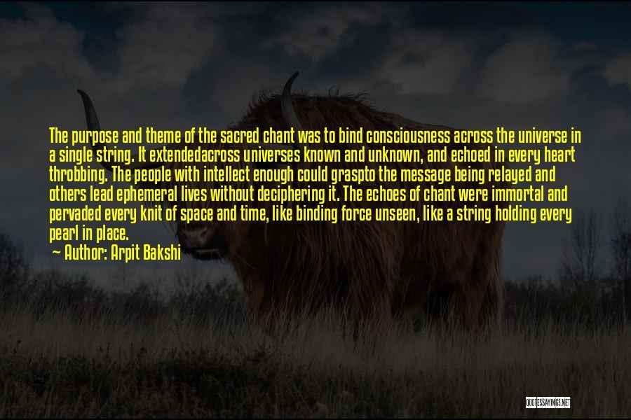 Mrs Bakshi Quotes By Arpit Bakshi