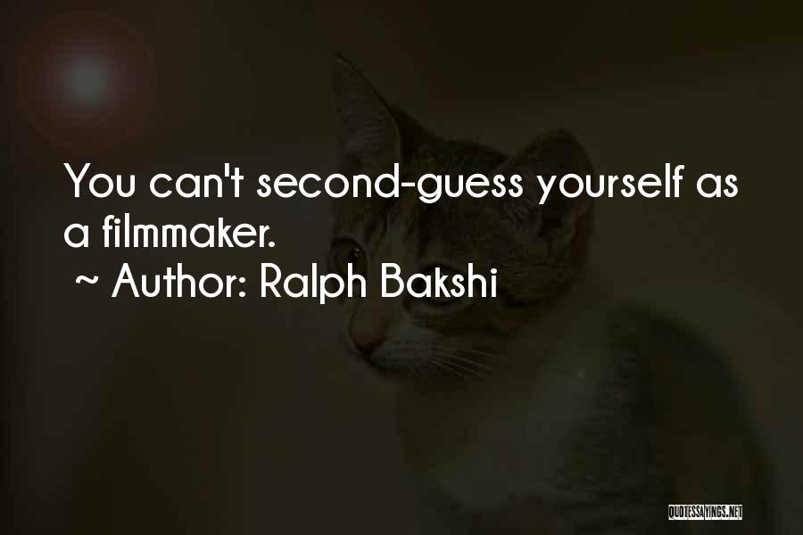 Mrs Bakshi Quotes By Ralph Bakshi