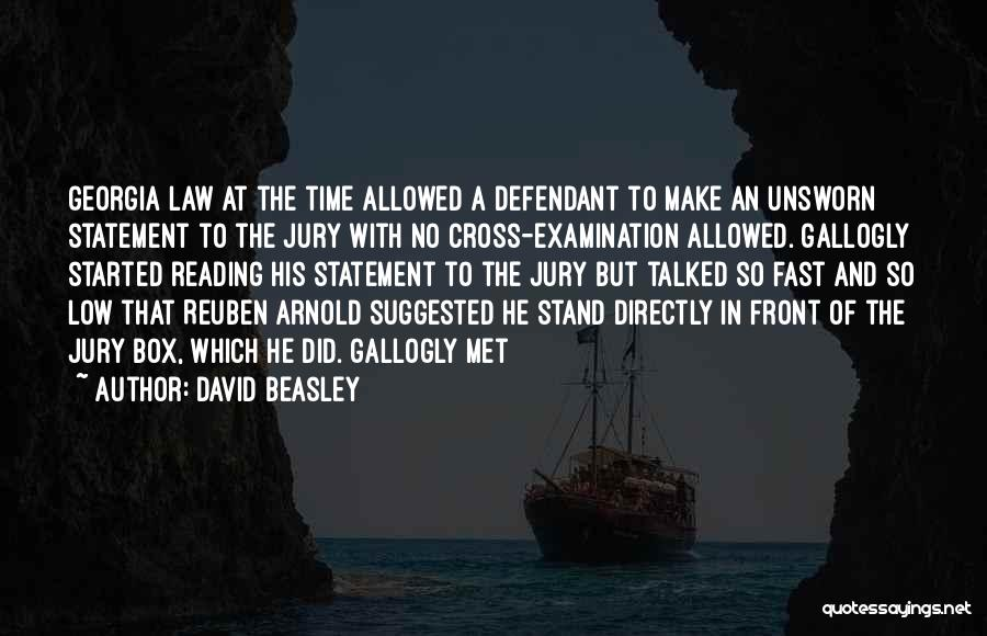 Mrs Beasley Quotes By David Beasley