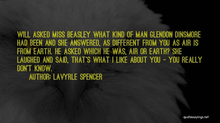 Mrs Beasley Quotes By LaVyrle Spencer