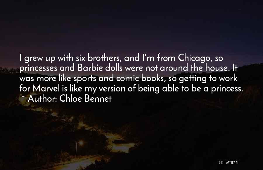 Mrs Bennet Quotes By Chloe Bennet