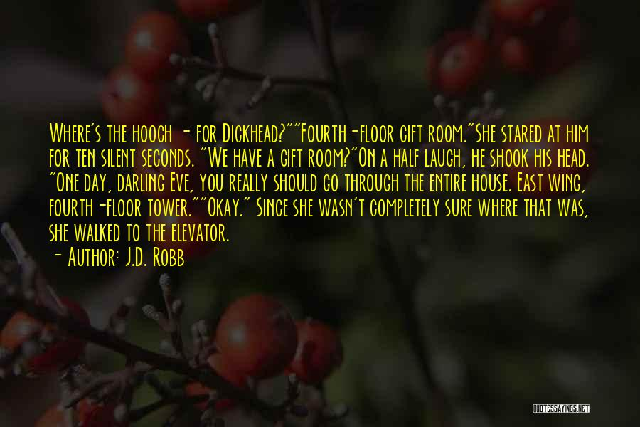 Mrs Darling Quotes By J.D. Robb