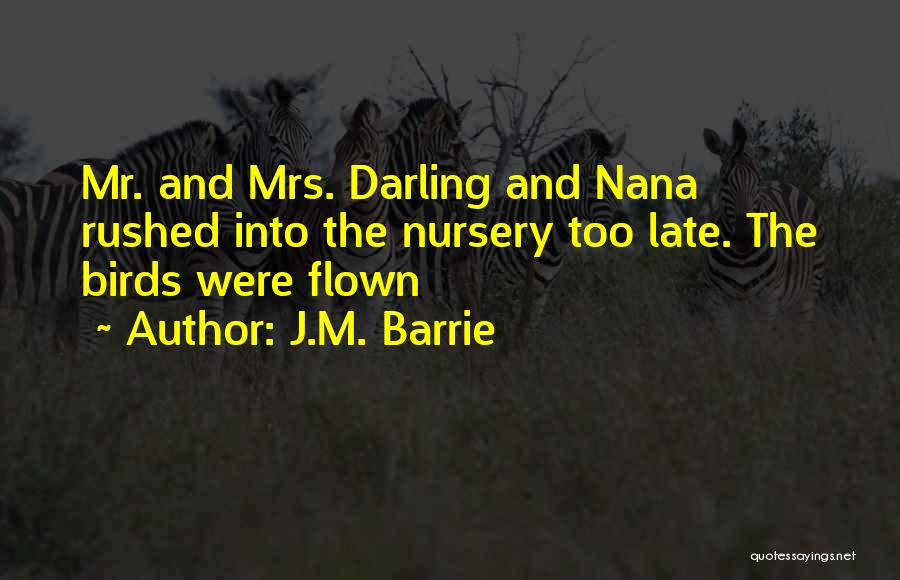 Mrs Darling Quotes By J.M. Barrie