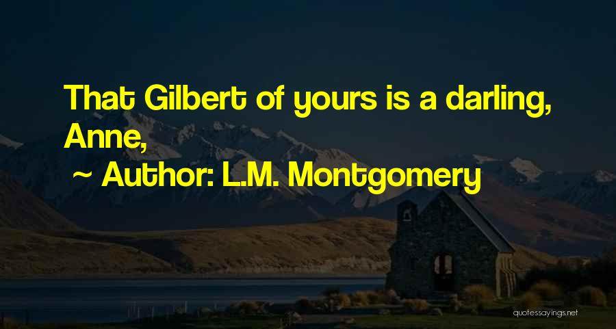 Mrs Darling Quotes By L.M. Montgomery