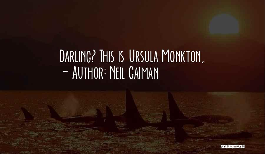 Mrs Darling Quotes By Neil Gaiman