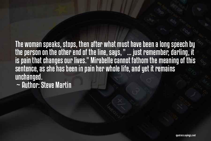 Mrs Darling Quotes By Steve Martin