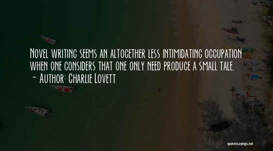 Mrs Lovett Quotes By Charlie Lovett