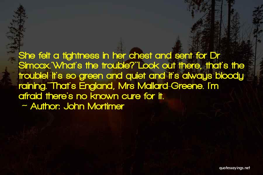 Mrs Mallard Quotes By John Mortimer