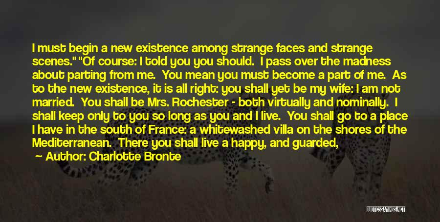 Mrs Right Quotes By Charlotte Bronte