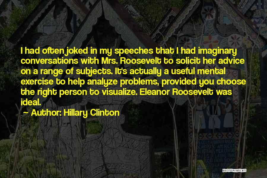 Mrs Right Quotes By Hillary Clinton