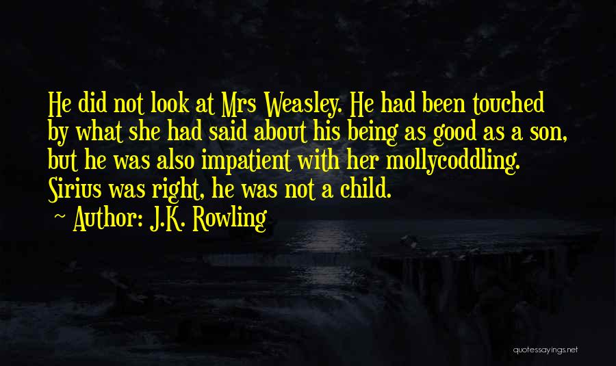 Mrs Right Quotes By J.K. Rowling