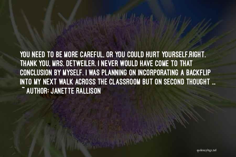 Mrs Right Quotes By Janette Rallison