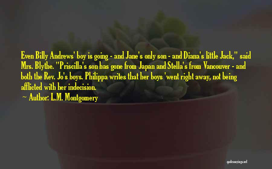 Mrs Right Quotes By L.M. Montgomery