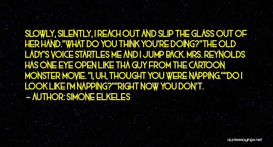 Mrs Right Quotes By Simone Elkeles