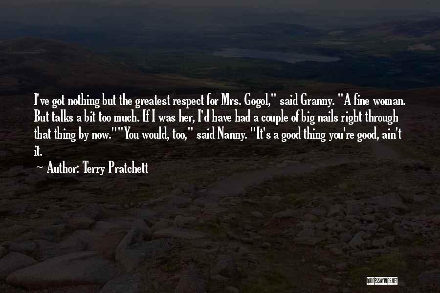 Mrs Right Quotes By Terry Pratchett