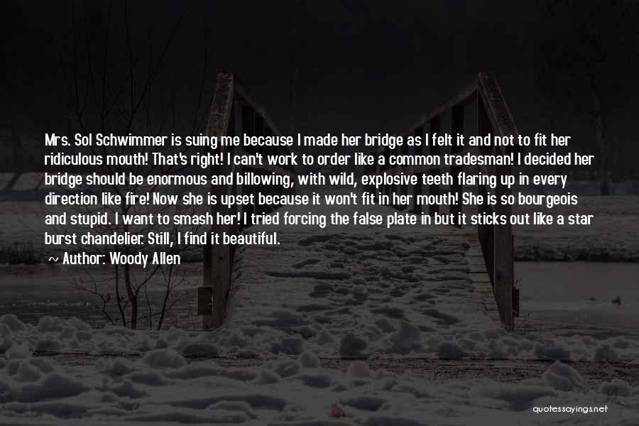Mrs Right Quotes By Woody Allen