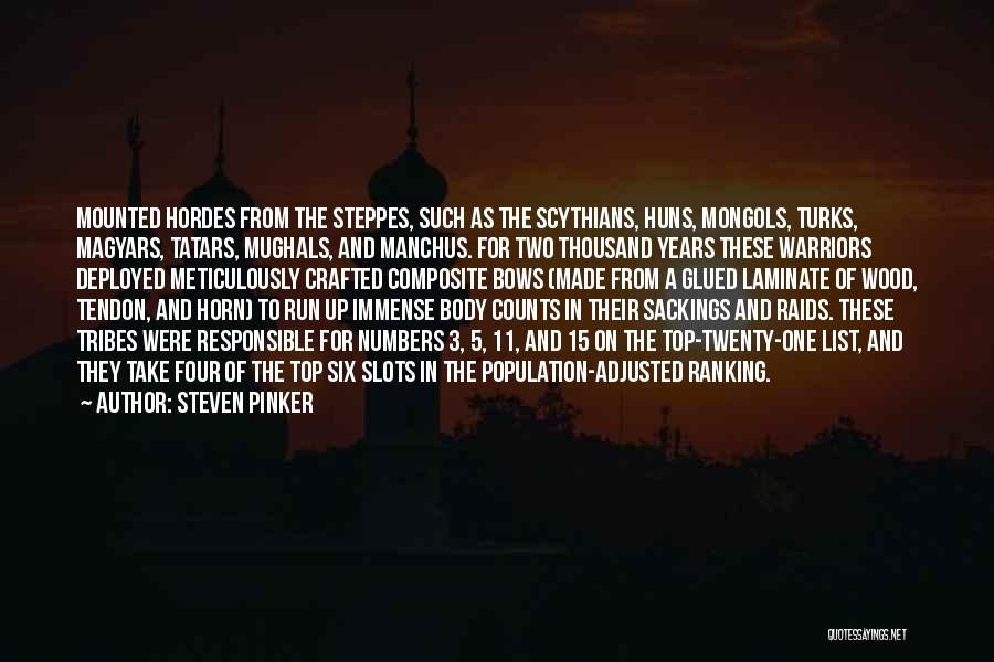 Mughals Quotes By Steven Pinker
