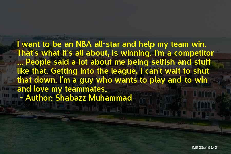 Muhammad S.a.w Quotes By Shabazz Muhammad