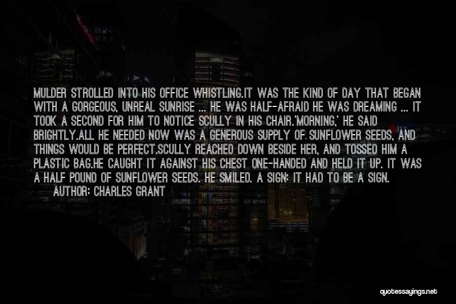Mulder Scully Quotes By Charles Grant