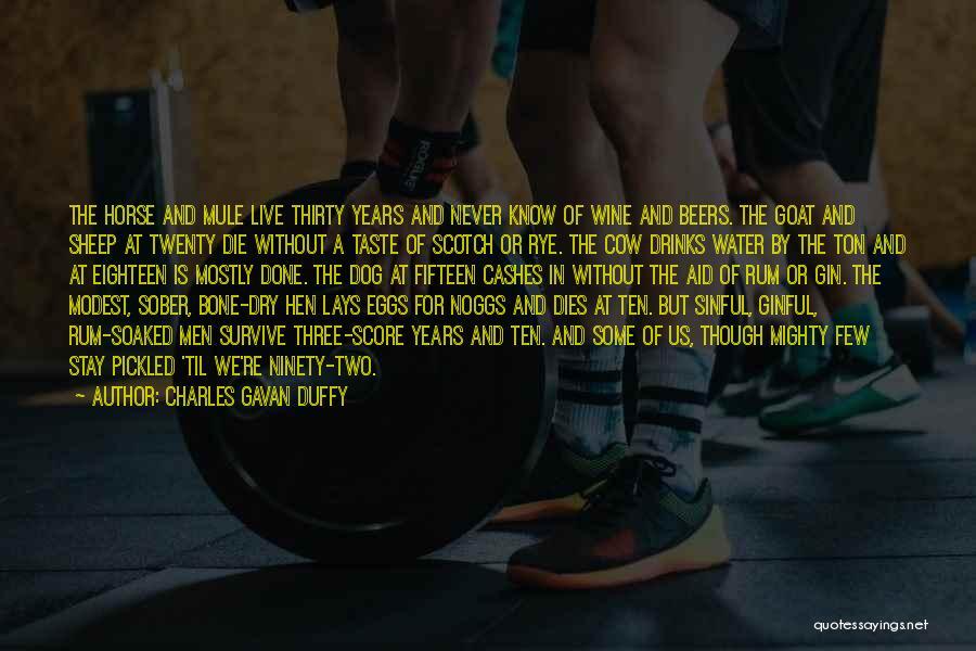 Mule Bone Quotes By Charles Gavan Duffy
