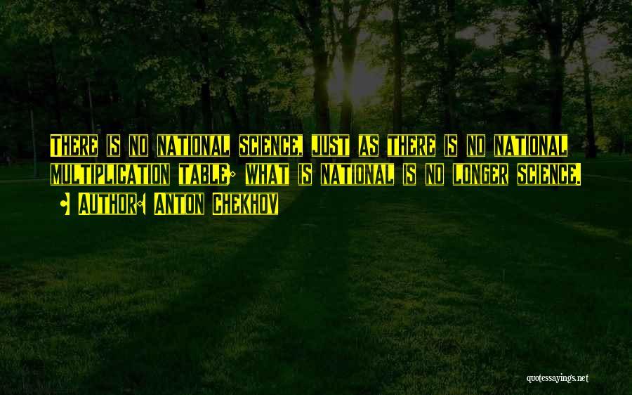 Multiplication Quotes By Anton Chekhov