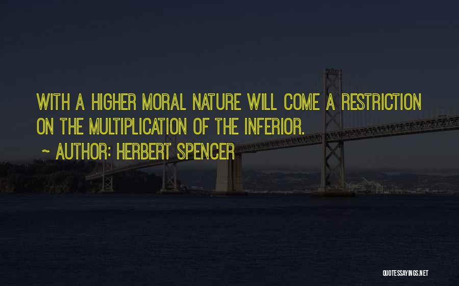 Multiplication Quotes By Herbert Spencer