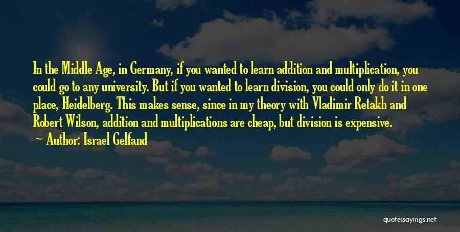 Multiplication Quotes By Israel Gelfand