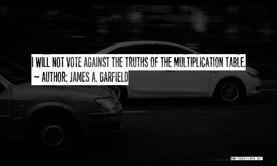 Multiplication Quotes By James A. Garfield