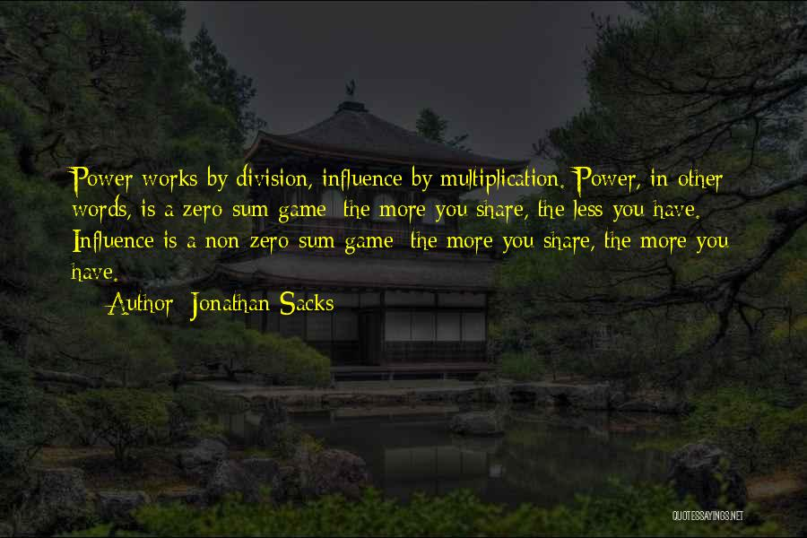 Multiplication Quotes By Jonathan Sacks