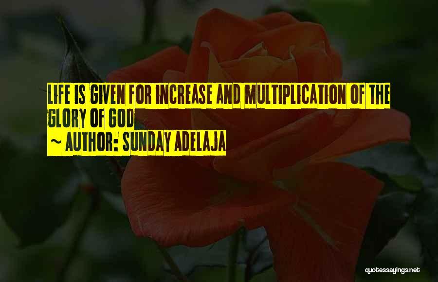 Multiplication Quotes By Sunday Adelaja