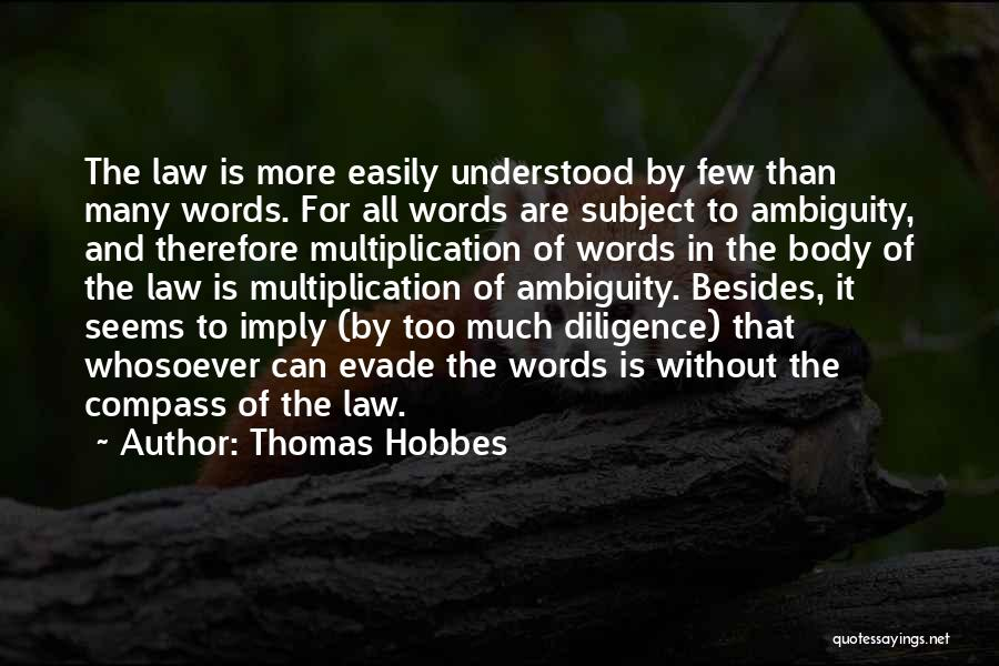 Multiplication Quotes By Thomas Hobbes