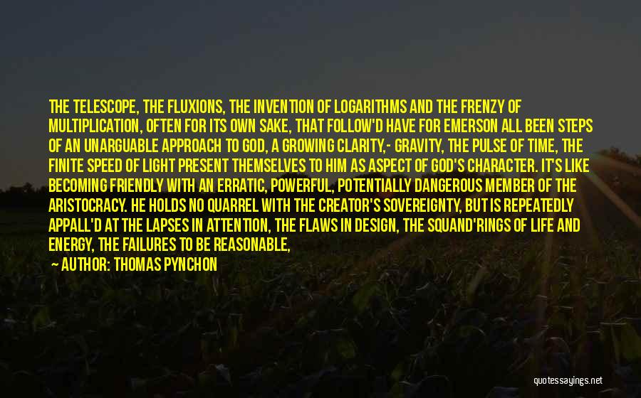 Multiplication Quotes By Thomas Pynchon