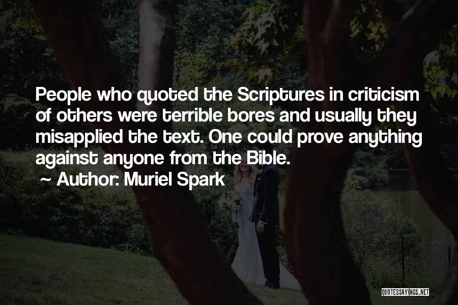 Muriel Spark Quotes 732809
