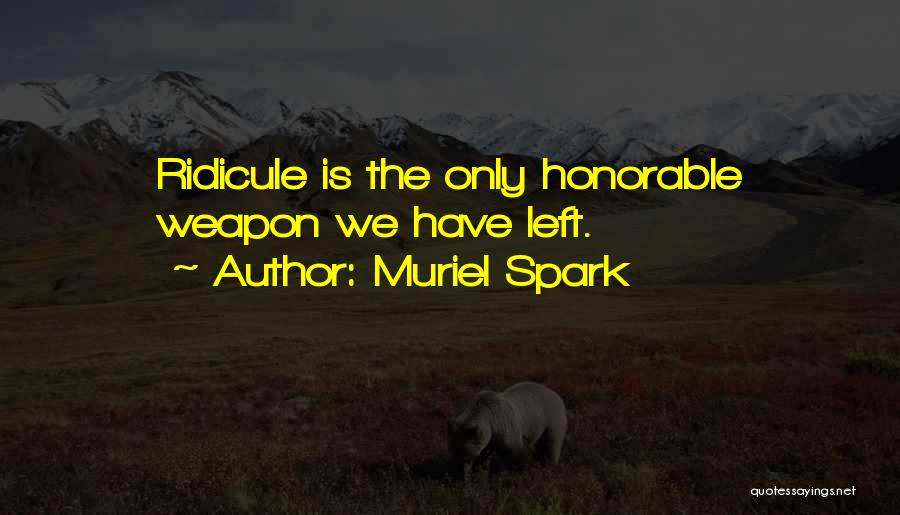 Muriel Spark Quotes 783310