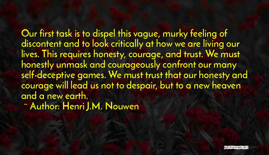 Murky Quotes By Henri J.M. Nouwen