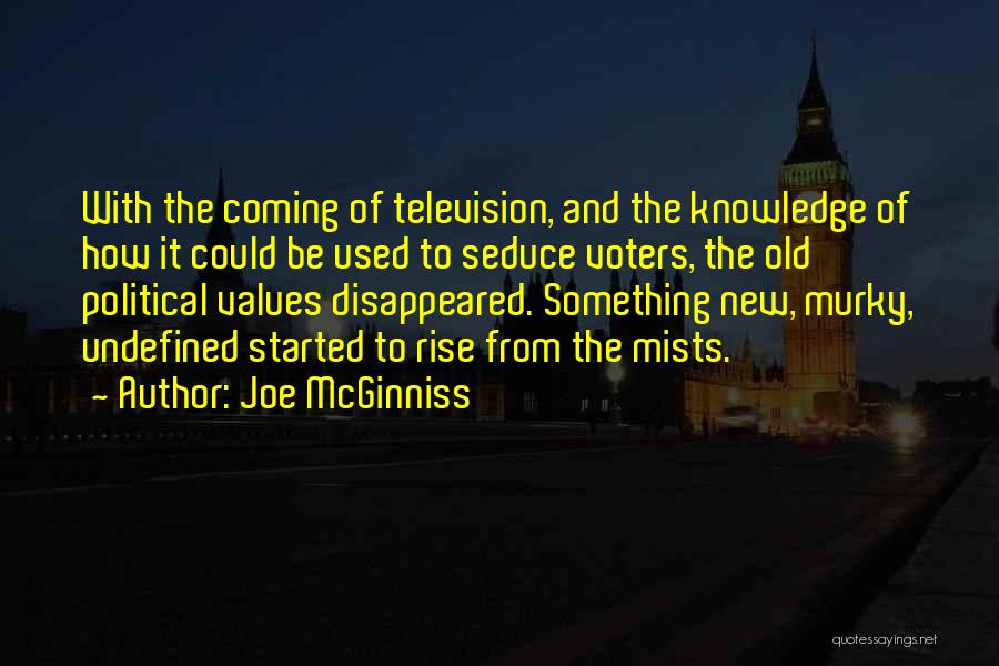 Murky Quotes By Joe McGinniss