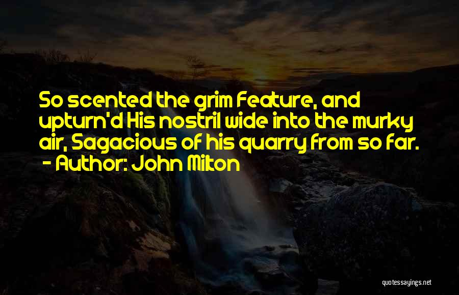 Murky Quotes By John Milton