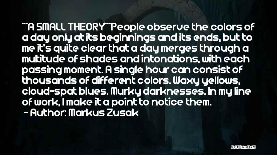 Murky Quotes By Markus Zusak