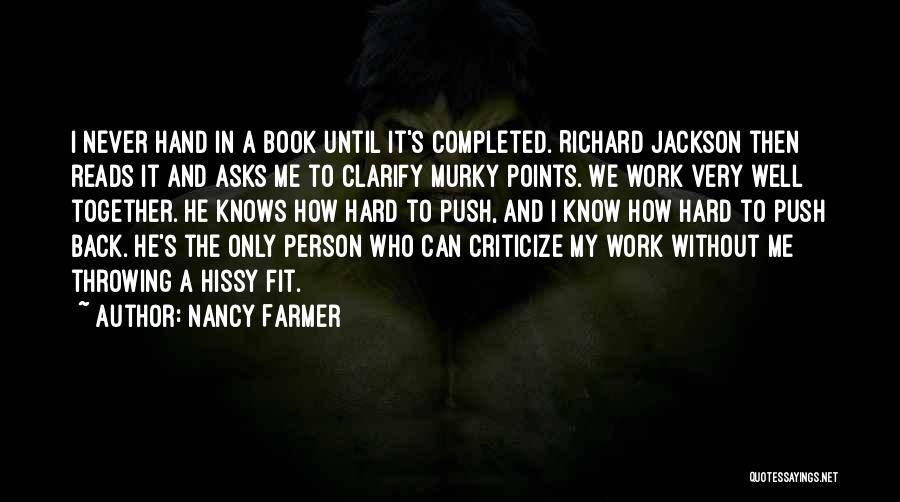 Murky Quotes By Nancy Farmer