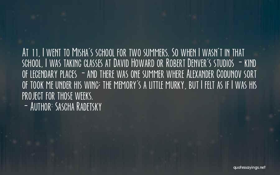 Murky Quotes By Sascha Radetsky