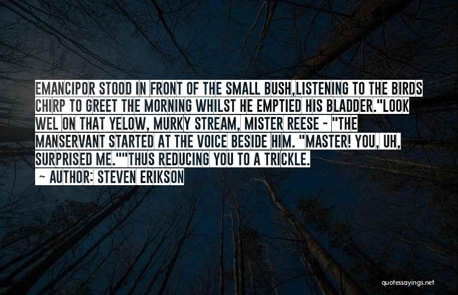 Murky Quotes By Steven Erikson