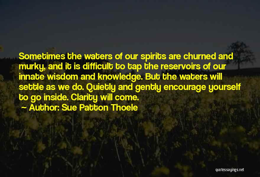 Murky Quotes By Sue Patton Thoele