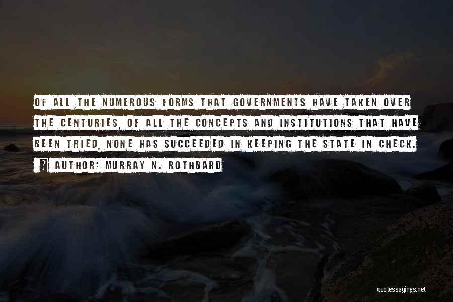 Murray N. Rothbard Quotes 1949291