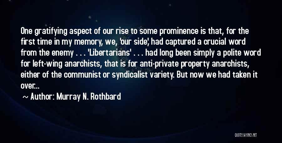 Murray N. Rothbard Quotes 475641