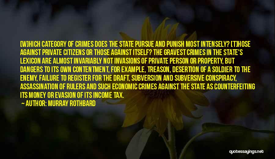 Murray Rothbard Quotes 1539663