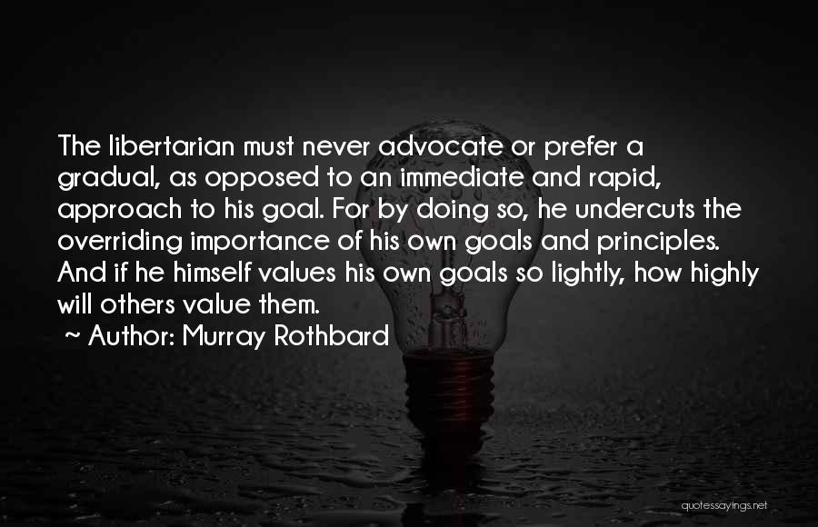 Murray Rothbard Quotes 199276
