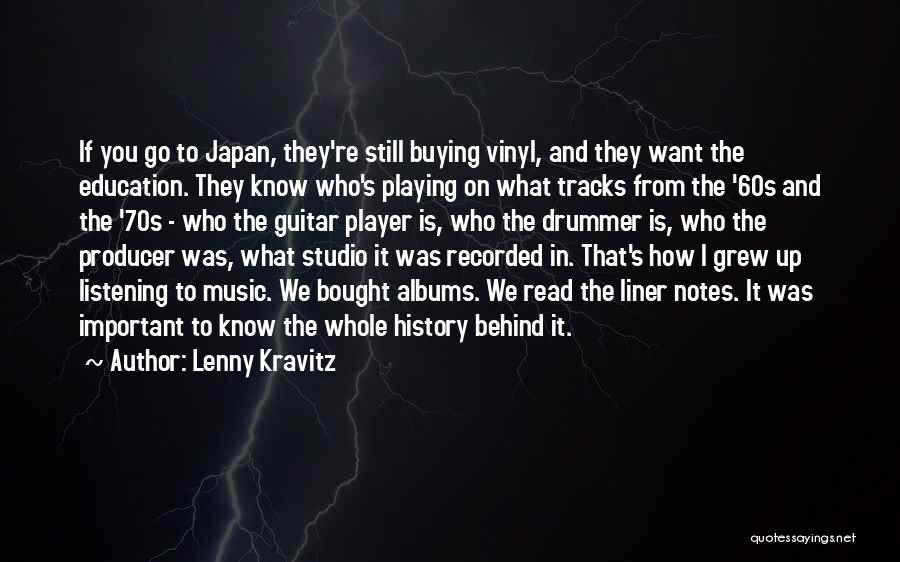 Music Albums Quotes By Lenny Kravitz