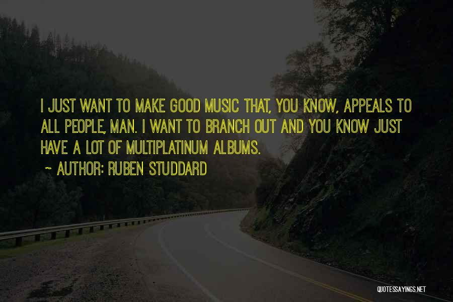 Music Albums Quotes By Ruben Studdard