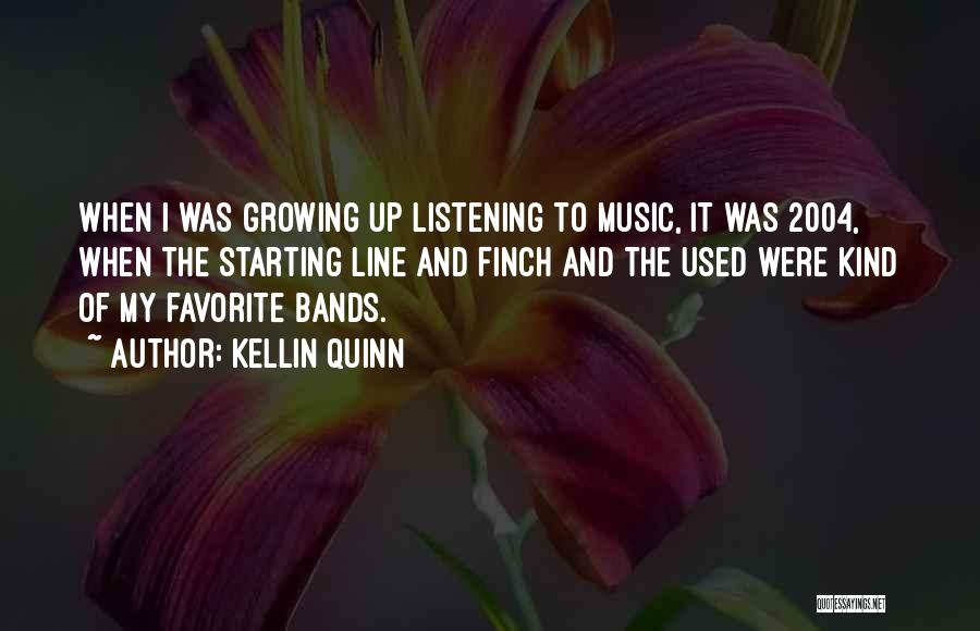 Music Bands Quotes By Kellin Quinn